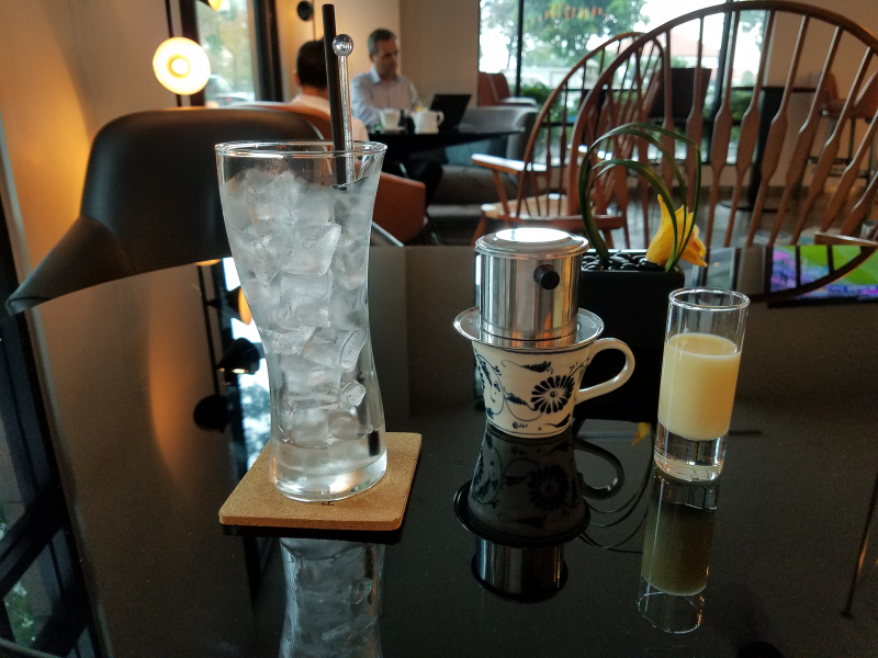 Vietnamese coffee.56
