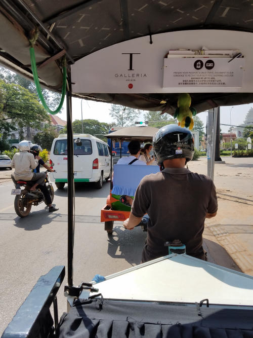 Tuktuk on food tour.34